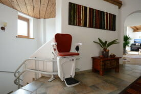 Alpha Curved Stairlift Dublin